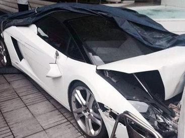 В Индии парковщик разбил Lamborghini за €250 000 - ВИДЕО