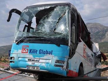 Автобус с россиянами перевернулся в Турции, есть погибшие - ОБНОВЛЕНО - ВИДЕО - ФОТО