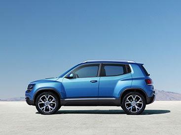 Маленький джип Volkswagen поступит в продажу через три года - ФОТО