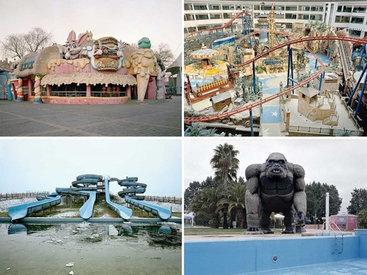 Жуткие пустующие парки развлечений Китая - ФОТОСЕССИЯ
