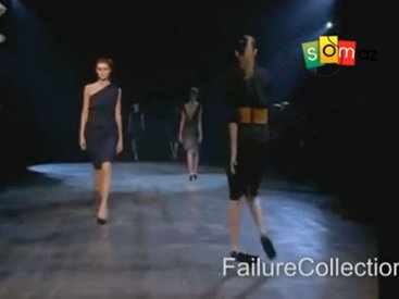 Модели тоже плачут, особенно когда падают на подиуме - ВИДЕО