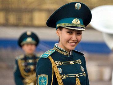 Девушки из армии Казахстана - ФОТОСЕССИЯ