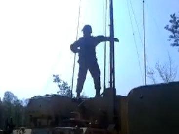 Веселый танец солдата - ВИДЕО