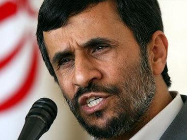 Ахмадинеджад обвинил западные страны в создании засухи в Иране