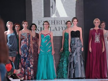 Baku Fashion Nights: Fakhriya Khalafova - ФОТО