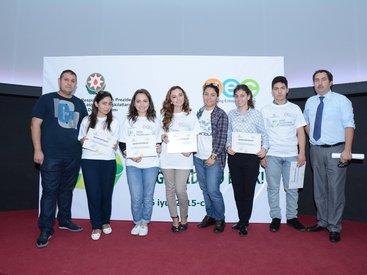 Завершены тренинги для молодежи по правильному управлению бытовыми отходами - ФОТО