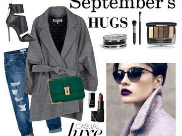 Стильные объятия сентября - ФОТО