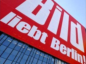Власти ФРГ выплатят издателю газеты Bild более 41 000 евро