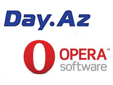 Opera и портал Day.Az приступили к сотрудничеству