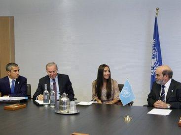 Вице-президент Фонда Гейдара Алиева Лейла Алиева встретилась в Риме с генеральным директором FAO Жозе Грациано да Силвой - ФОТО