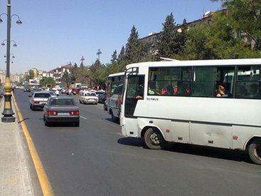 Транспортная неразбериха на бакинском проспекте