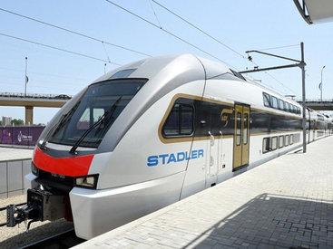 Новый поезд Баку-Сумгайыт. Интересные подробности – РЕПОРТАЖ - ФОТО