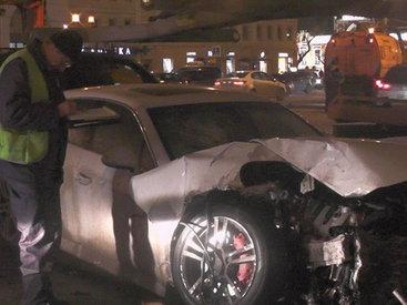 В крупном ДТП столкнулись 9 автомобилей - ФОТО