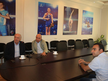 Виртуальная встреча в Баку представителей музеев - ФОТО