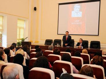 В НАНА прошла научная сессия, посвященная 80-летию Арифа Меликова