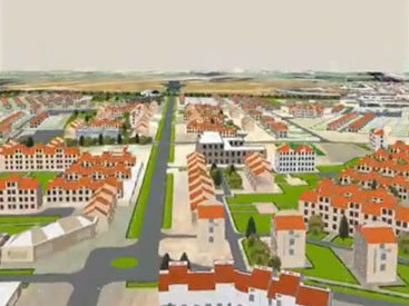 Азербайджанский город в ближайшем будущем преобразится - ВИДЕО