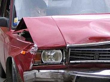 В Гёйчае столкнулись ВАЗ и ГАЗ: пострадали 6 человек