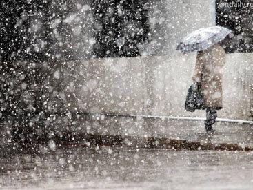 В Баку ожидается мокрый снег