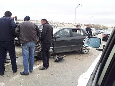 В пригороде Баку произошла автоавария – ФОТО