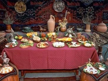Азербайджанская национальная кухня представлена в Полтаве