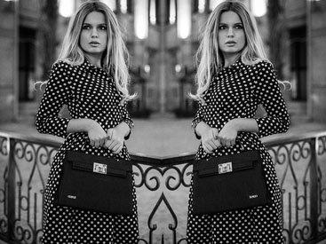 Fashion-блоггер iBlondee: Мир в горошек - ФОТО