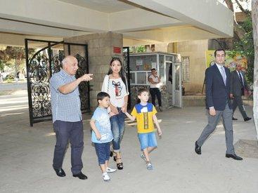 По инициативе вице-президента Фонда Гейдара Алиева Лейлы Алиевой в Бакинском зоопарке установлен новый вольер - ФОТО