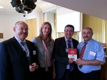 В Стокгольме состоялась презентация книги, посвященной выдающемуся ученому-офтальмологу, академику Зарифе Алиевой - ФОТО
