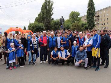 Саратовские азербайджанцы агитируют против алкоголя и наркотиков - ФОТО