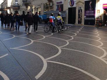Bakının mərkəzini velosiped sürücüləri zəbt ediblər? – FOTO
