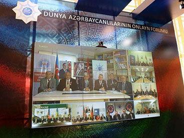 В Баку прошел онлайн-форум диаспорских организаций - ФОТО