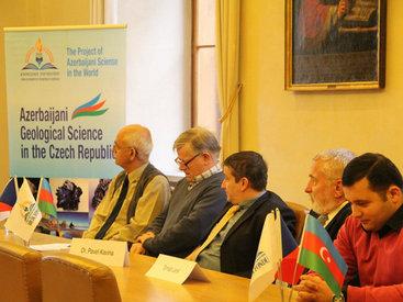 В Чехии представили достижения геологической науки Азербайджана - ФОТО