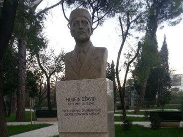 В Монтенегро почтили память Гусейна Джавида - ФОТО