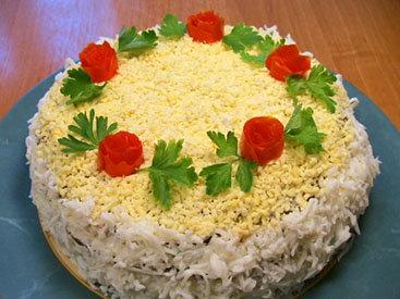Торт из печени - Пошаговый рецепт - ФОТО
