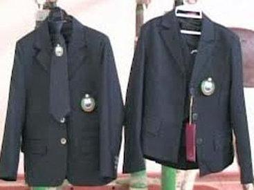 В бакинском поселке продавали поддельную школьную форму