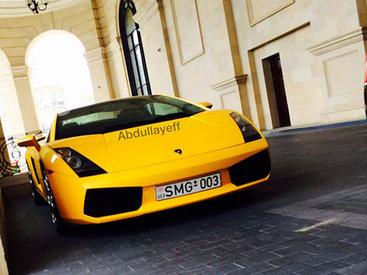 В Баку замечен желтый суперкар Lamborghini - ОБНОВЛЕНО - ФОТО - ВИДЕО
