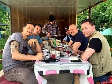 Путешествие Златана Ибрагимовича по Азербайджану - ОБНОВЛЕНО - ФОТО