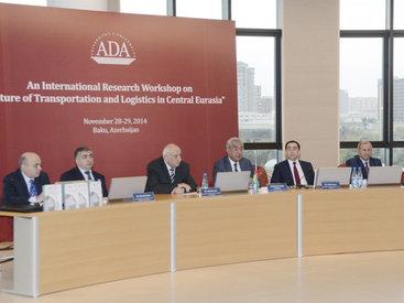 В Университете АДА обсуждается будущее транспорта в Центральной Евразии - ФОТО