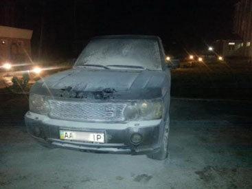 В Киеве подожгли автомобиль главы ОДАУ - ФОТО