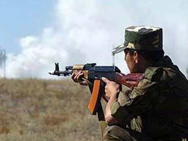 Армянские ВС обстреляли азербайджанские позиции