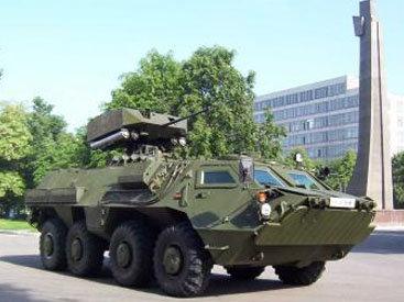 """Украина продемонстрирует на выставке в Баку """"БТР-4МВ"""""""