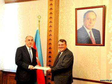 Эльмар Мамедъяров принял нового посла Венгрии - ФОТО