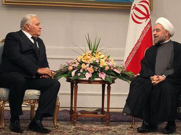 Делегация Азербайджана встретилась с Президентом Ирана – ФОТО