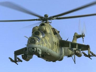 Россия испытывает вертолеты, сделанные для Азербайджана