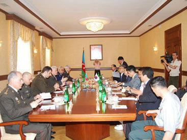 Азербайджан и Корея обсудили военное сотрудничество