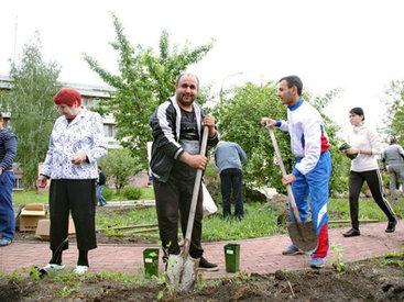 АМОР в Челябинске посетил дом-престарелых - ФОТО