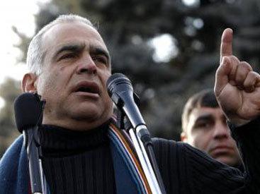 Раффи Ованнисян прекратил голодовку