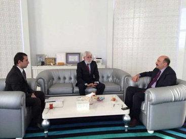 Абульфас Гараев провел встречу с послами ряда стран - ФОТО