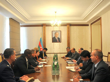 Эльмар Мамедъяров на переговорах с представителем Пентагона - ОБНОВЛЕНО