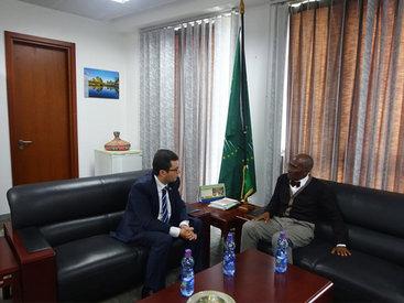 Африканский союз хочет более тесных связей с Азербайджаном - ФОТО