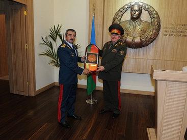 Пограничники Азербайджана и Беларуси укрепляют связи - ФОТО